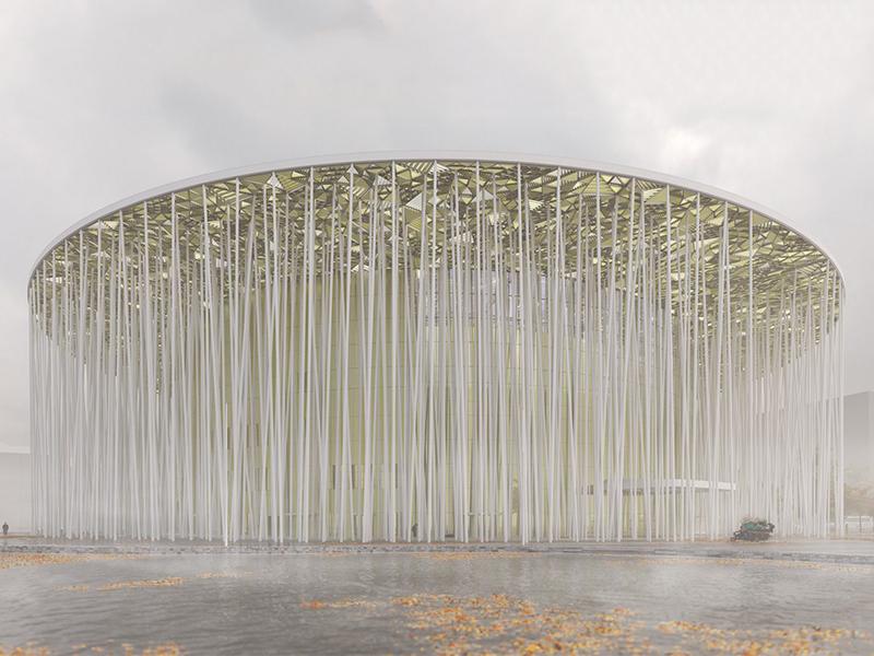 """Nhà hát Wuxi Show Theatre - Bồng bềnh giữa khu """"rừng tre"""" kỳ ảo"""