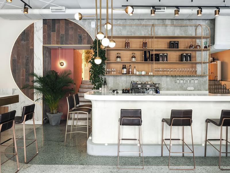 Nhà hàng Kurorty - Vẻ duyên dáng của đường nét hình học