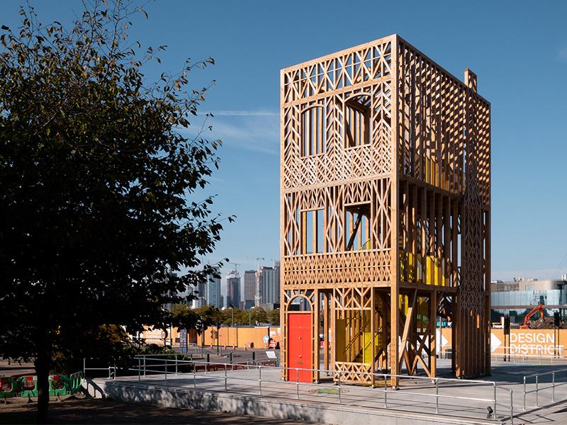 Studio Weave và đài quan sát giữa lòng London