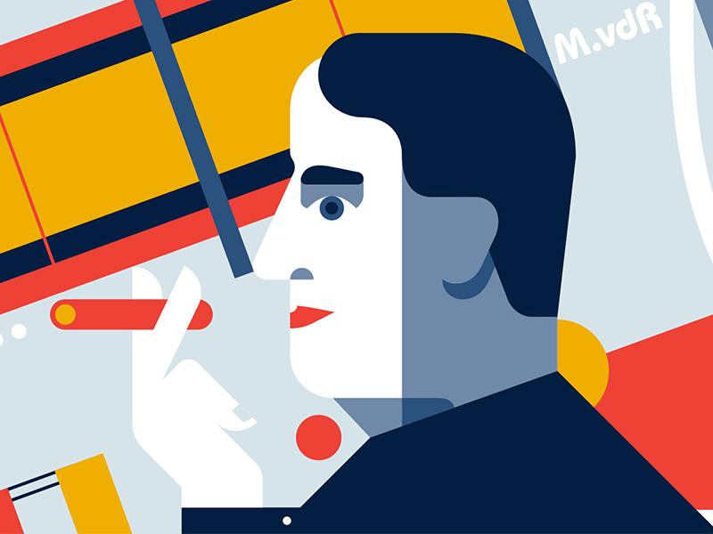 KTS Mies van der Rohe - Người đi đầu trong phong trào Bauhaus