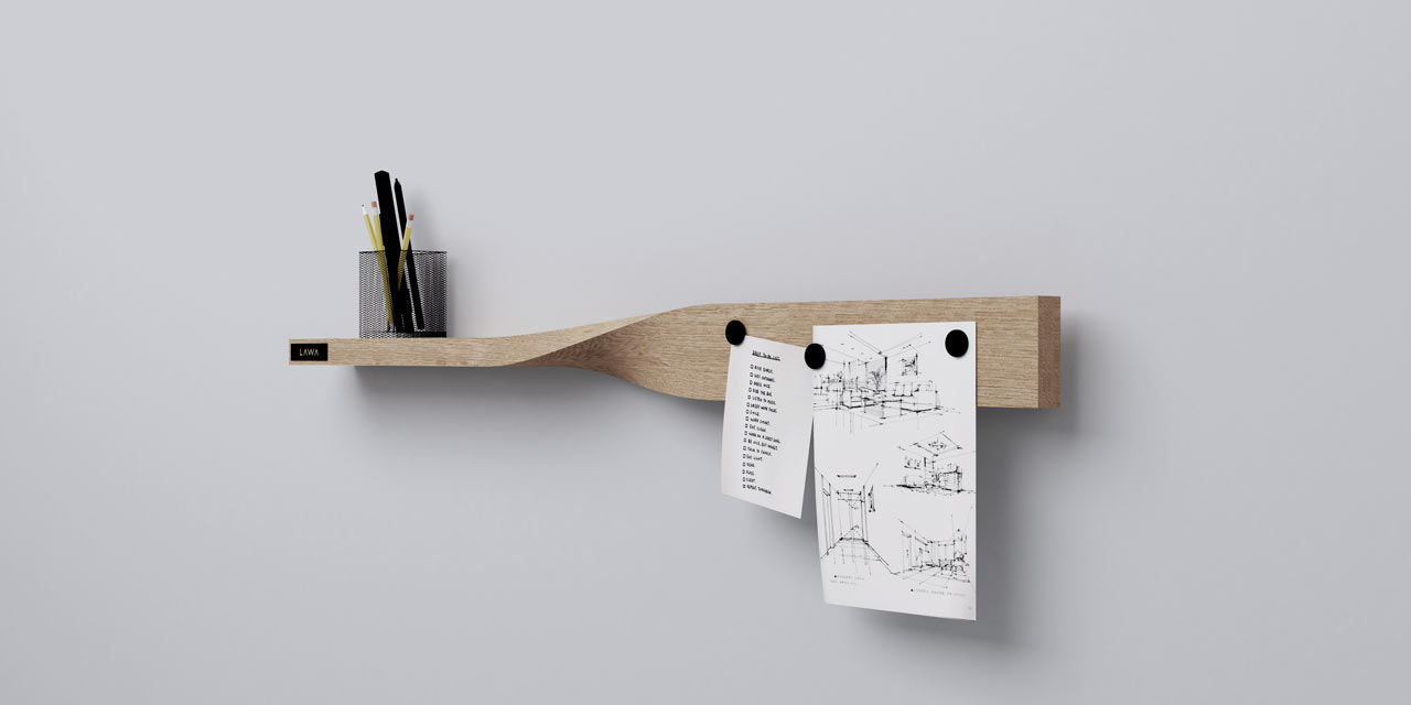 kệ xoắn Twist Shelf 2