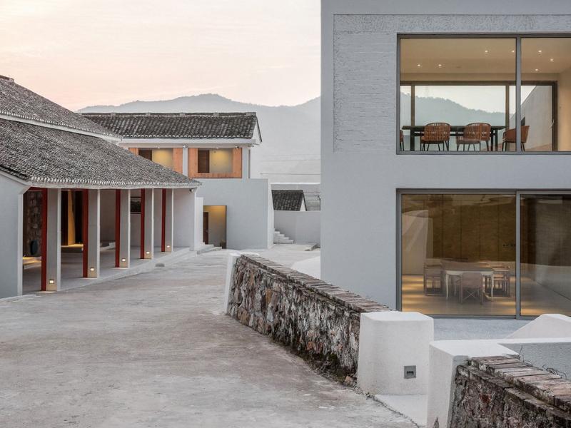 Lost Villa Huchen Barn Resort: Nơi hiện đại ấp ủ truyền thống