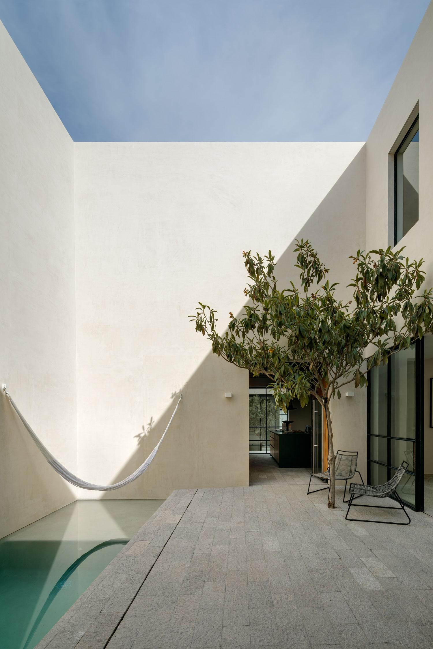 sân trong Casa La Quinta