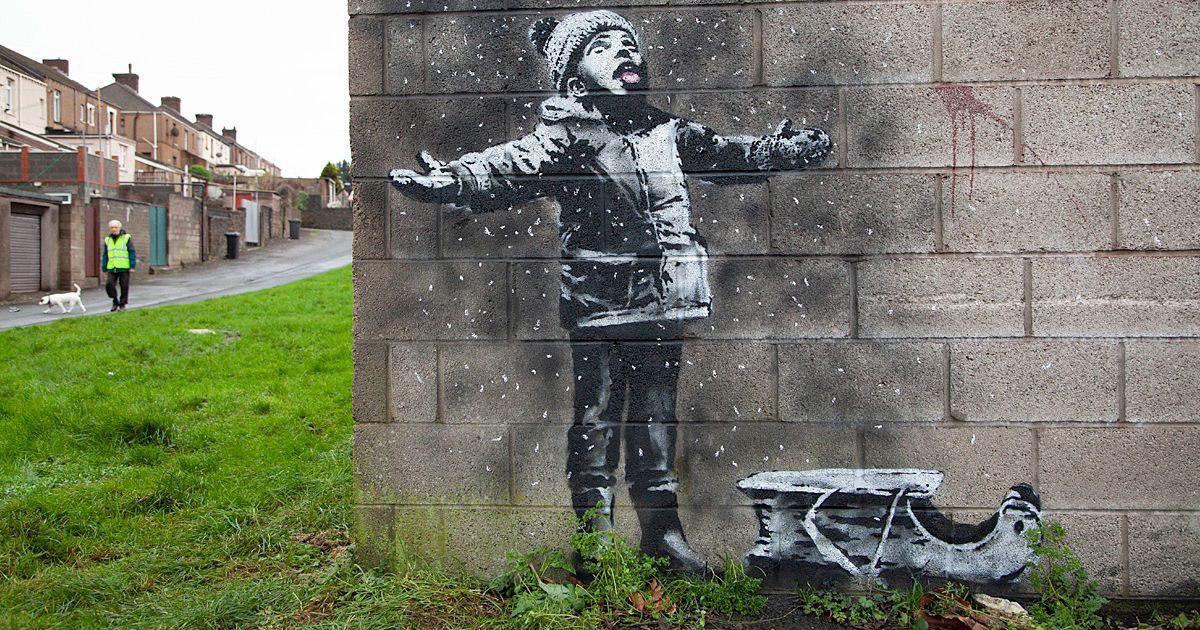 Nghệ sĩ Banksy 1