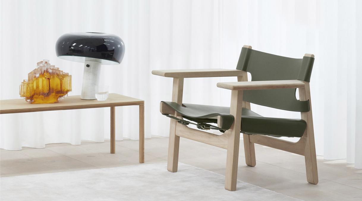 Spanish Chair-Børge Mogensen-Fredericia special edition elledecoration vn