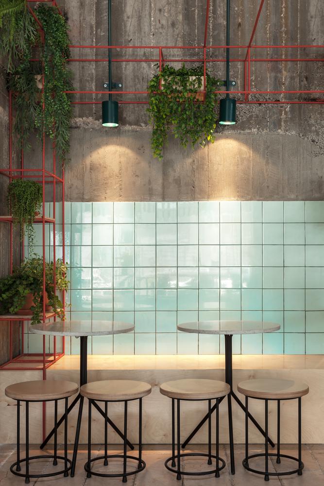 Mar@Co Restaurant – Thi vị hóa tinh thần công nghiệp Thiết kế quán Cafe Thiết kế nhà hàng Phong cách Vintage Phong cách Retro Phong cách Industrial Phong cách hiện đại Phong cách công nghiệp
