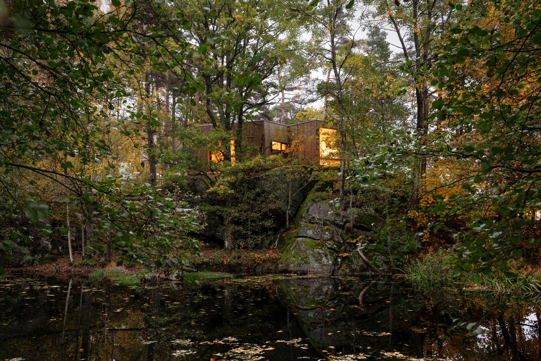 túp lều gỗ 1