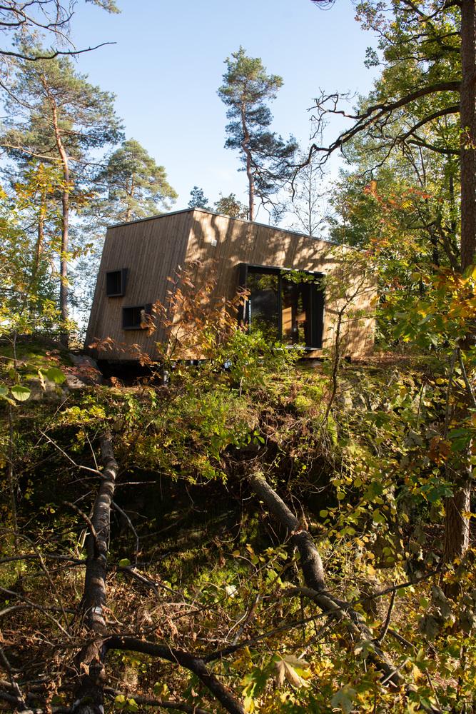 túp lều gỗ 2