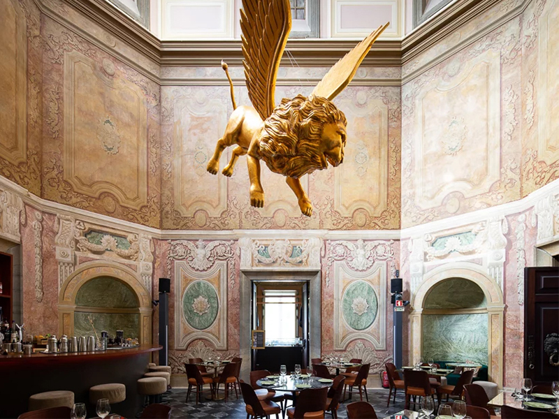 Palácio Chiado - Nhà hàng giữa lòng cung điện