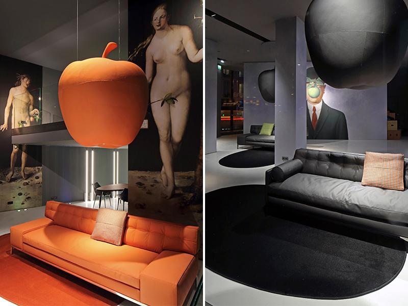 """Philippe Starck và BST sản phẩm bọc vải """"chay"""""""