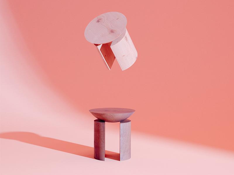 BST ghế đẩu Sinful Stools - Làn ranh nhạt nhòa giữa nội thất và điêu khắc