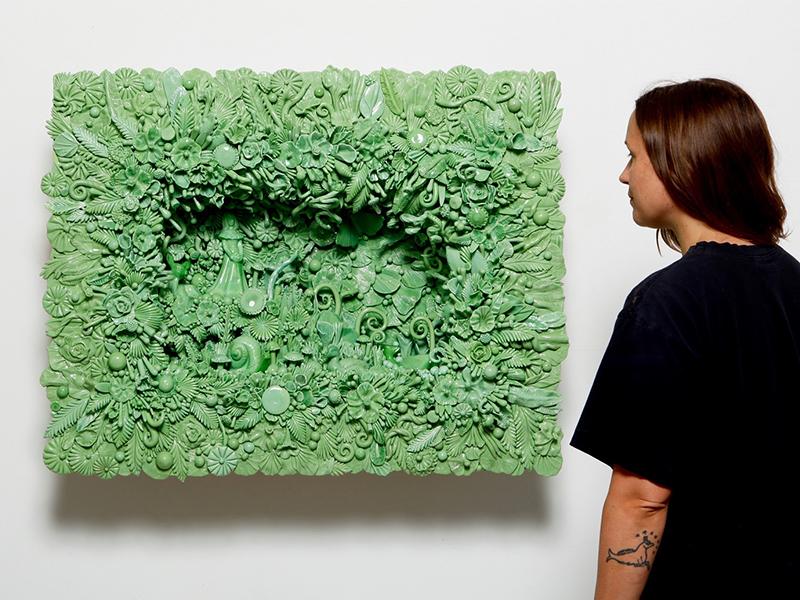 """Amber Cowan - """"Người làm vườn"""" bằng thủy tinh"""