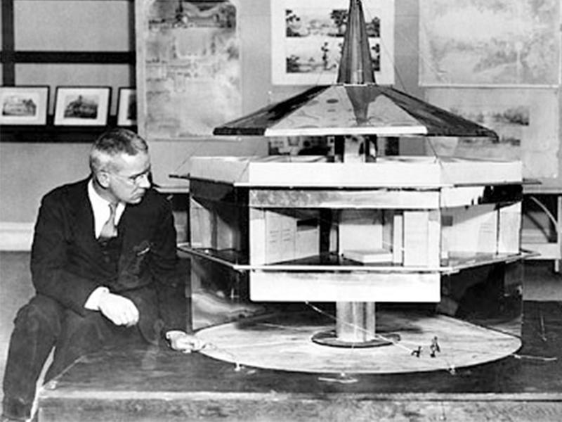 KTS Buckminister Fuller và định hướng tương lai trong quá khứ