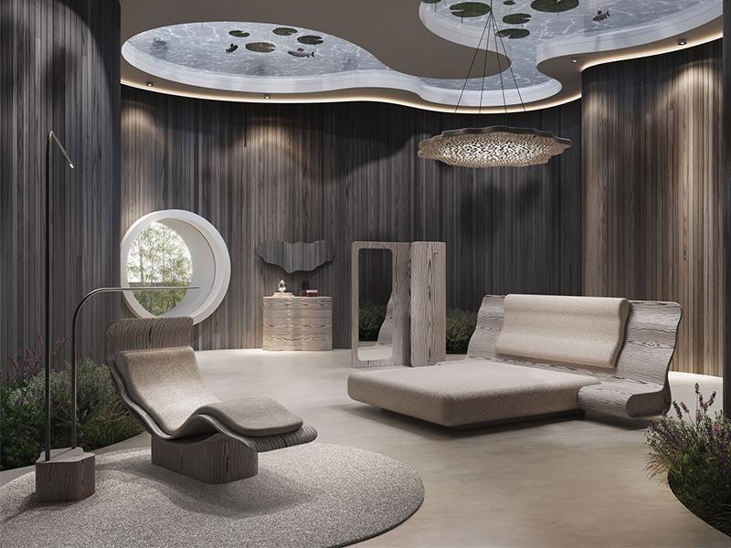 NTK Ross Lovegrove và quan điểm nội thất bền vững