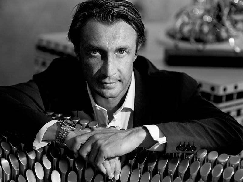 Carlo Colombo và bộ sưu tập giải thưởng thiết kế đồ sộ