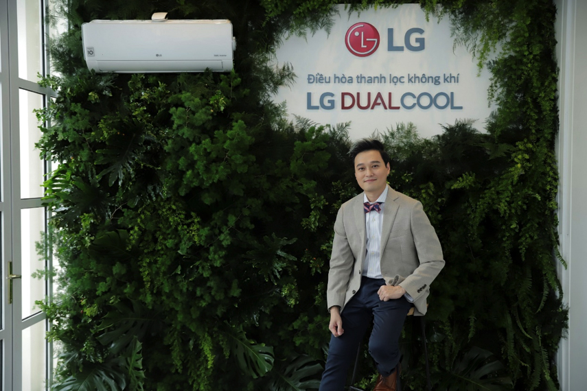 Ca sĩ Quang Vinh là khách mời của LG trong buổi hội thảo