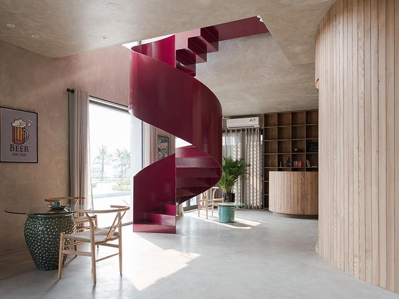 Bienhouse - Nhà ven biển mộc mạc giản đơn
