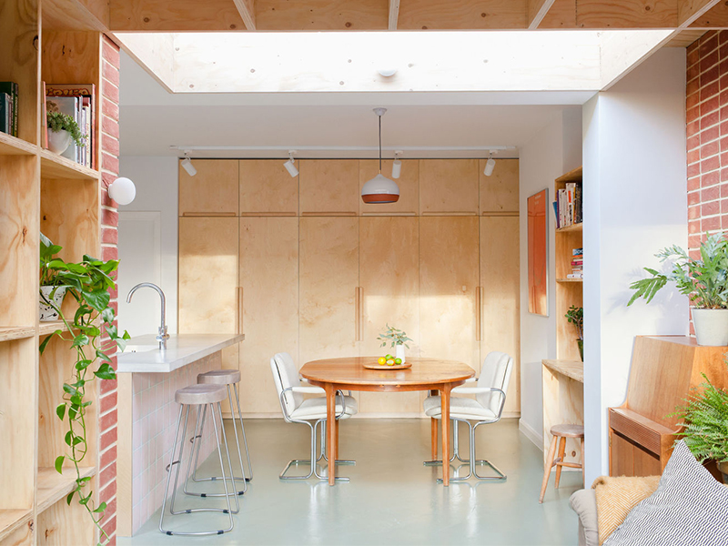 Hive House - Cuộc sống gọn gàng trong ngôi nhà nhỏ