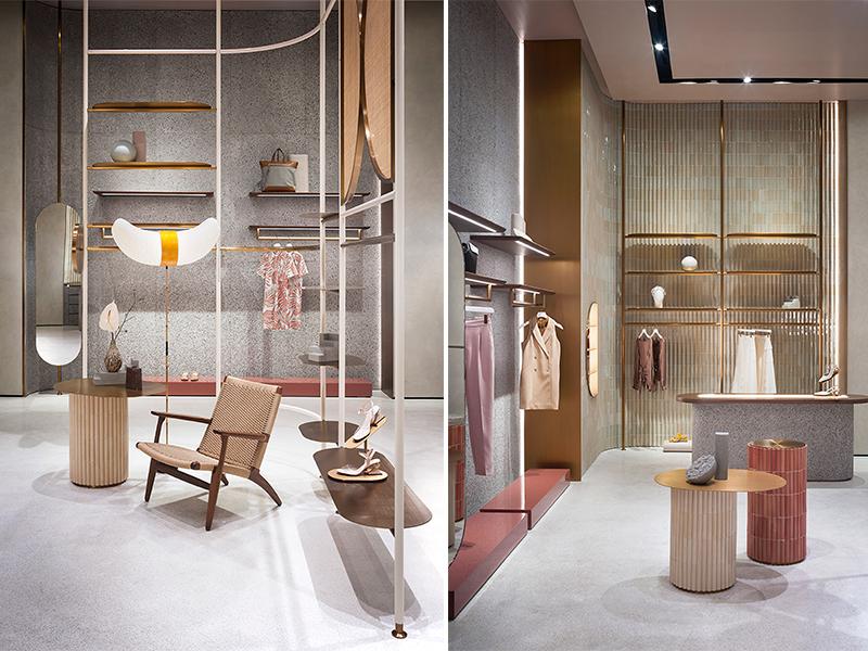 Cửa hàng thời trang Jaspal - Không gian tôn vinh hàng thủ công