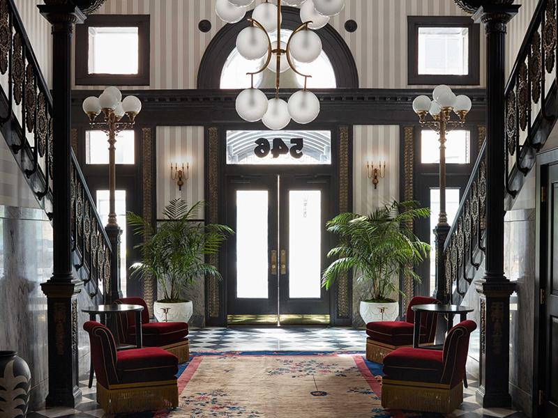 5 khách sạn boutique cải tạo từ công trình lịch sử tại Mỹ