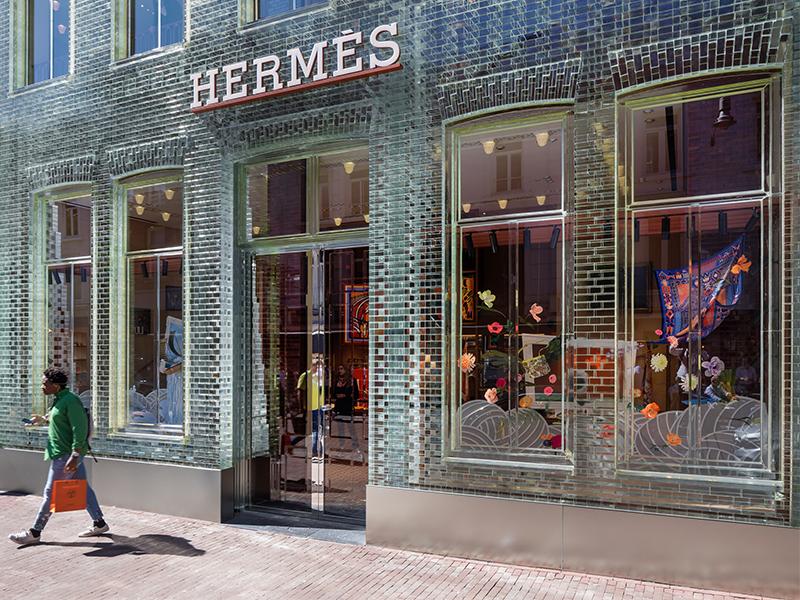 Hermès sử dụng thiết kế của MVRDV làm cửa hàng kinh doanh