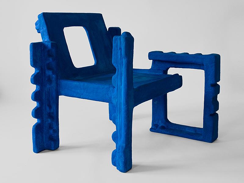 Trashformers - Chiếc ghế làm từ bao bì xốp