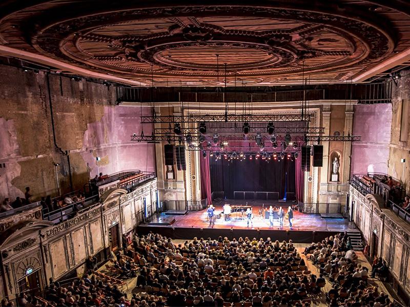 Cải tạo rạp hát Alexandra Palace mang tính lịch sử