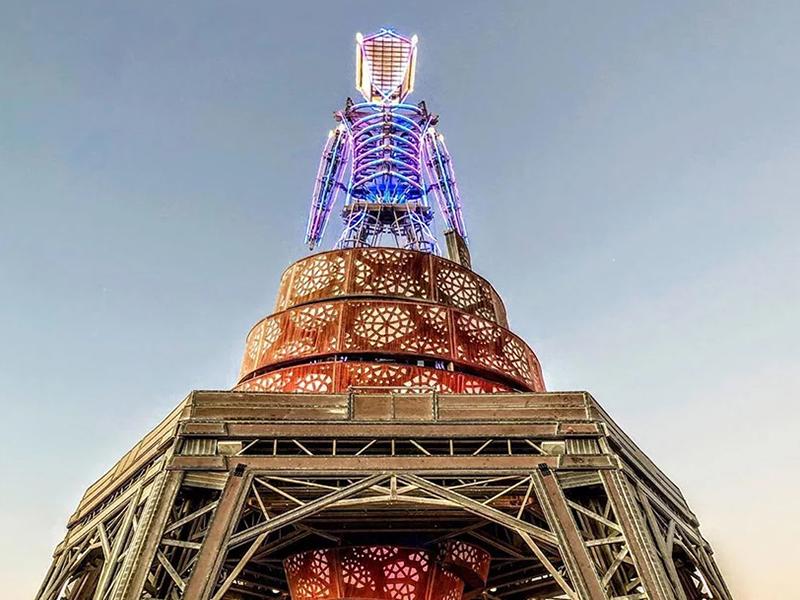 Burning Man 2019 - Triển lãm nghệ thuật kiến trúc giữa sa mạc
