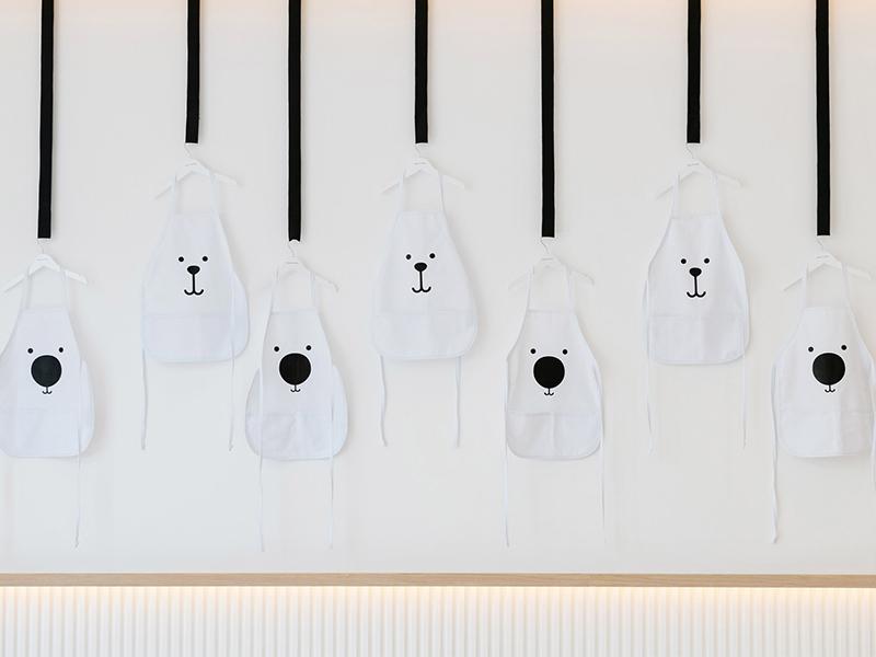 White & The Bear - Nhà hàng xinh xắn cho trẻ em