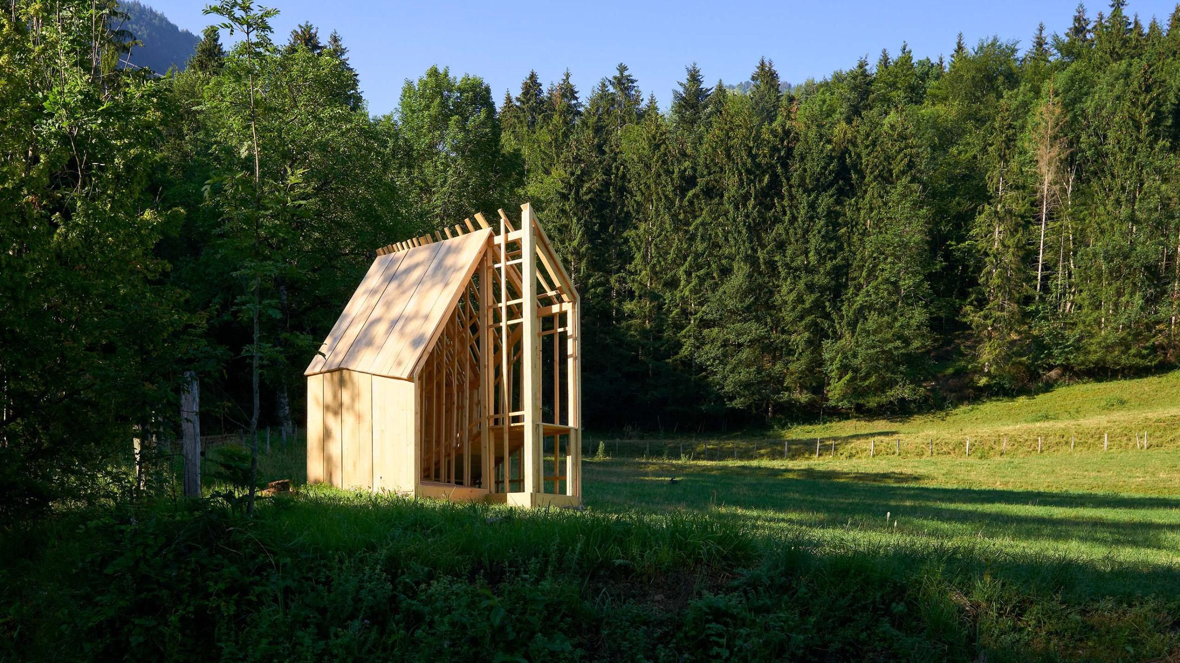 nhà gỗ 1