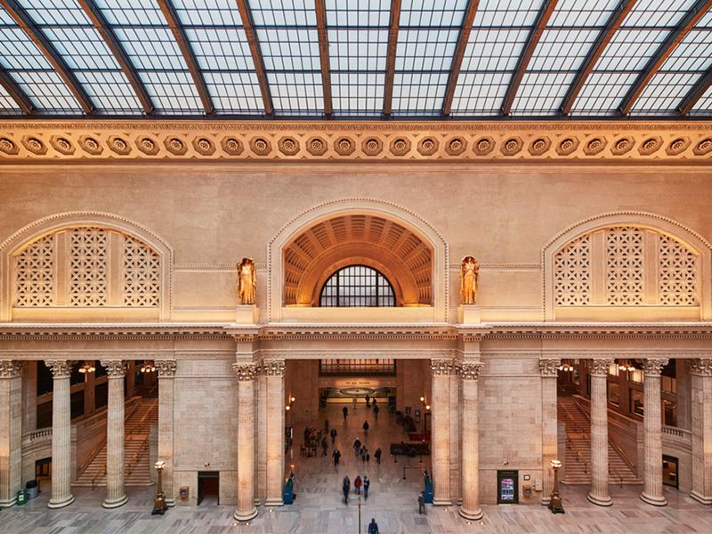 Dự án cải tạo ga tàu Union Station tại Chicago