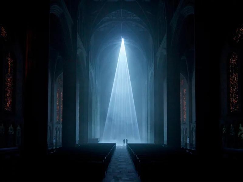 Grace Light - Triển lãm ánh sáng tại nhà thờ San Francisco