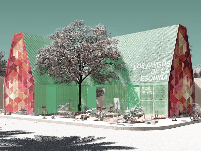Tulum Plastic School - Dự án trường học tái chế