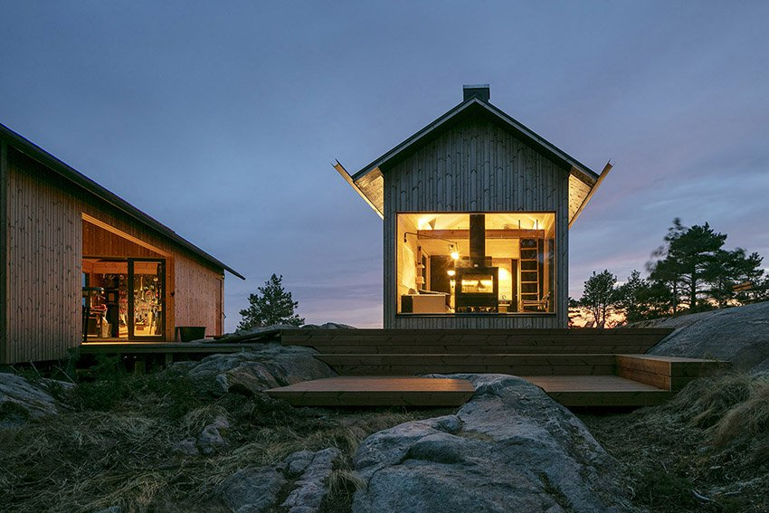 cabin gỗ 2