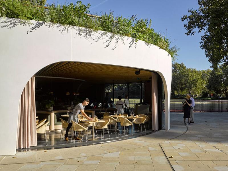 Cadogan - Quán cafe xoắn ốc thành London