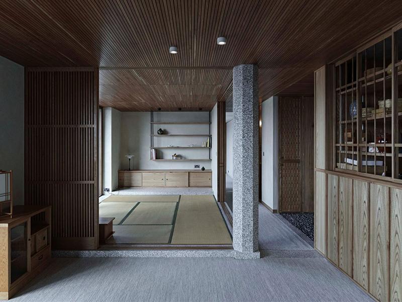 Barbican flat - Không gian mang chi tiết truyền thống Nhật Bản