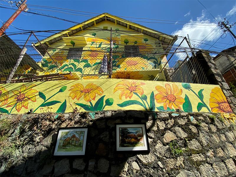 Khai mạc phố nghệ thuật Dốc Nhà Làng tại Đà Lạt