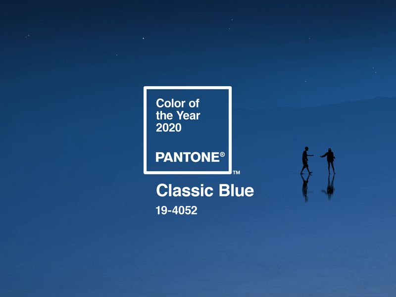 Pantone 2020 Classic Blue: ý nghĩa đằng sau sắc lam cổ điển