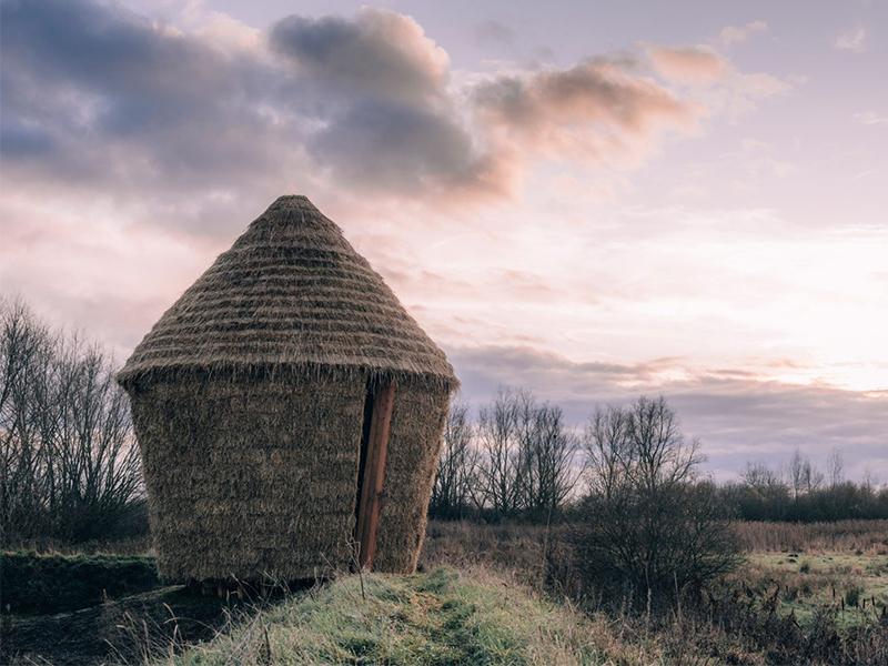 Lều tranh vùng Cambridgeshire