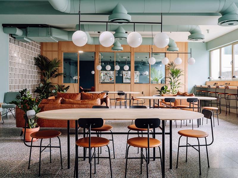 WOOD - Không gian kết nối công việc và giải trí
