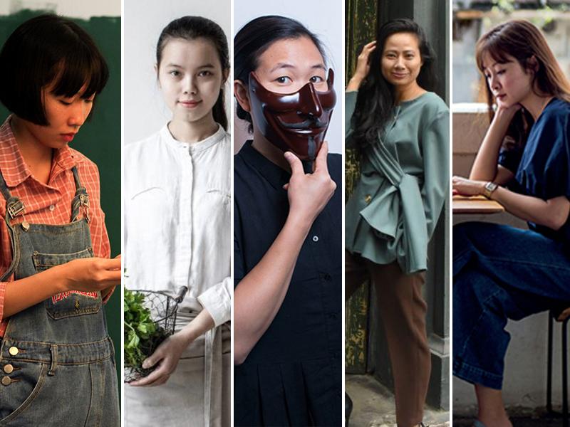 Nữ nghệ sĩ Việt và những sắc màu phong phú