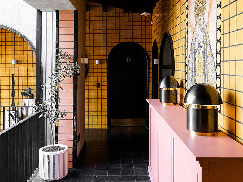 Khách sạn Casa Hoyos - Sắc màu và kỹ nghệ thủ công