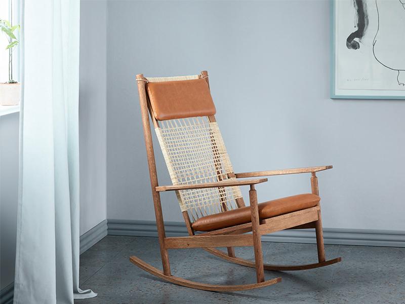 Swing Rocking Chair - Sự tái sinh của Hans Olsen