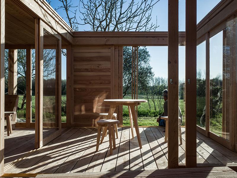 Le Petit Maison - Nhà gỗ trên vườn cây ăn quả
