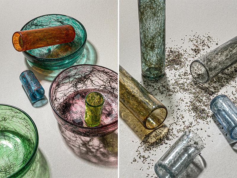 Tasting Thread - Thủy tinh lồng kim loại