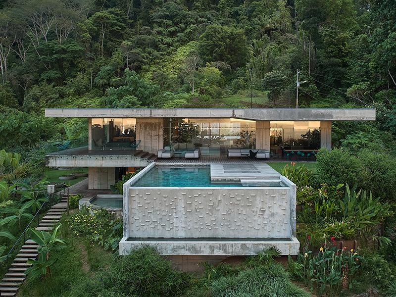 Art Villa - Khối bê tông giữa rừng rậm