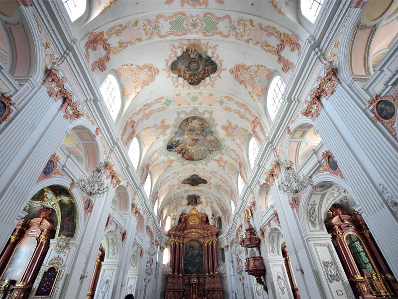 Sức mạnh đức tin trong kiến trúc Baroque