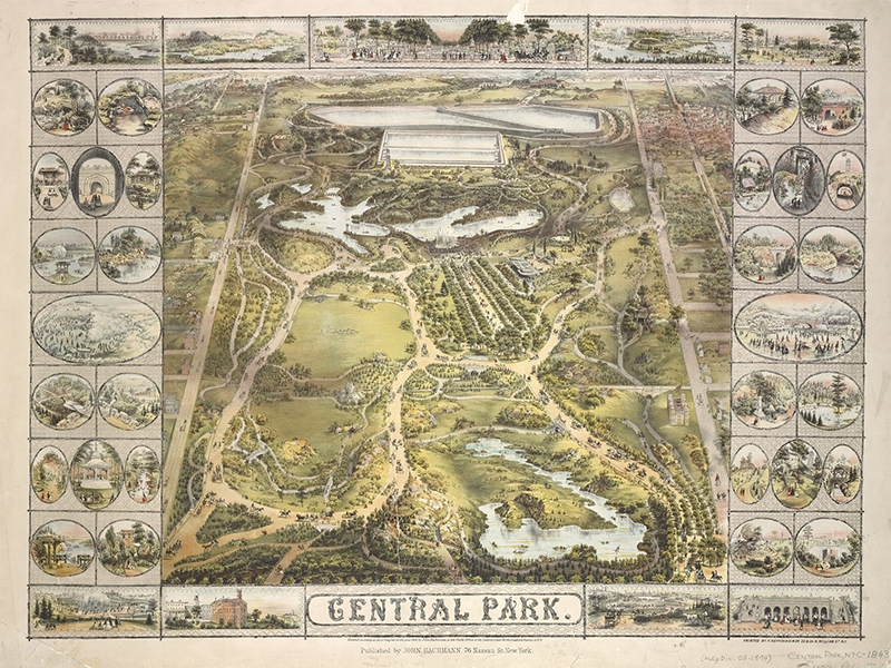Central Park – Kiệt tác cảnh quan New York