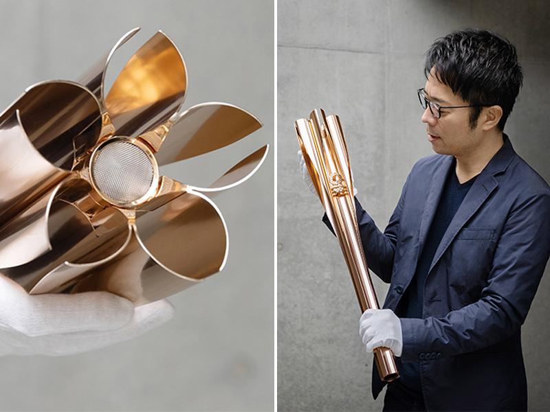 Tokujin Yoshioka và ngọn đuốc Tokyo Olympics 2020