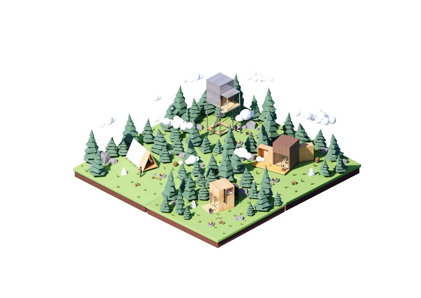 cabin gỗ 10